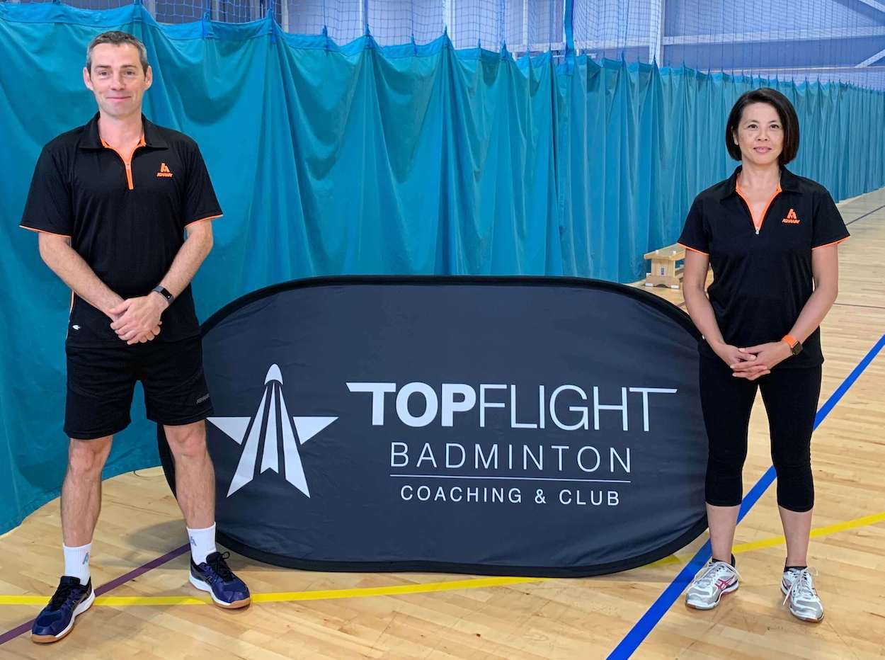 Image of our coaches - Chris Shepperd and Linda Bennett